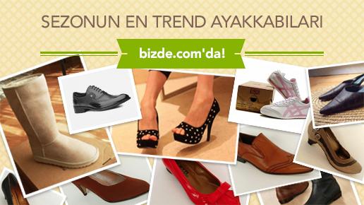 En trend ayakkabılar bizde.com'da
